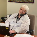 Nurse Practitioner Jean Morgan